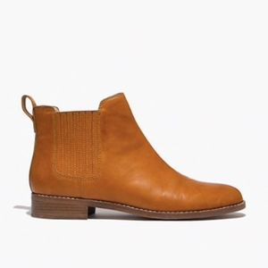 Worn once! Madewell Ainsley Chelsea Boot Brown 6